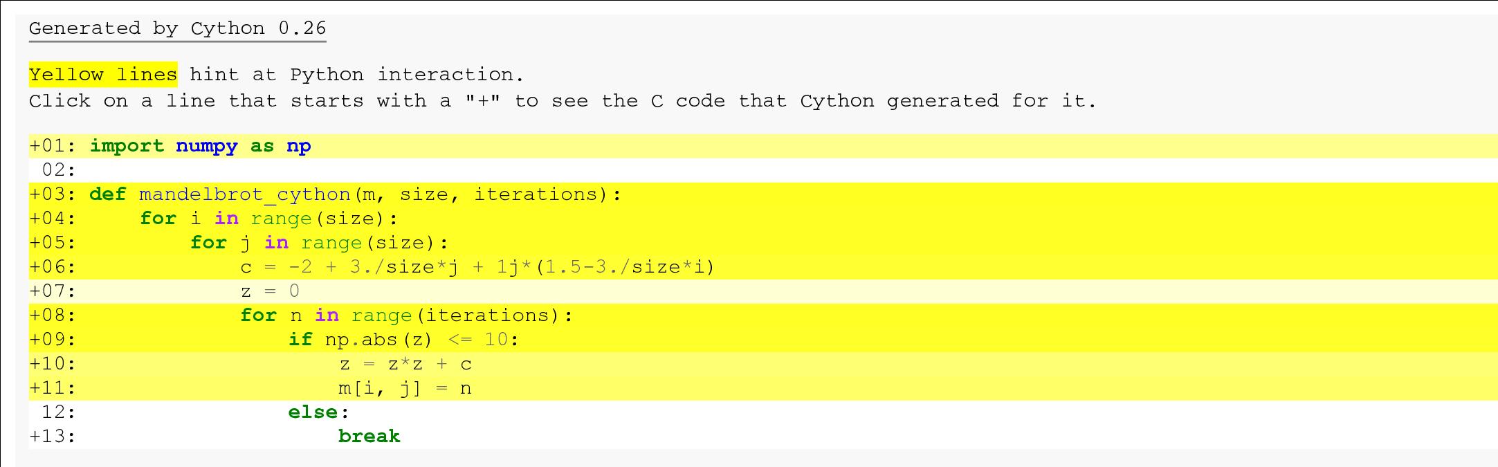 conda install cython