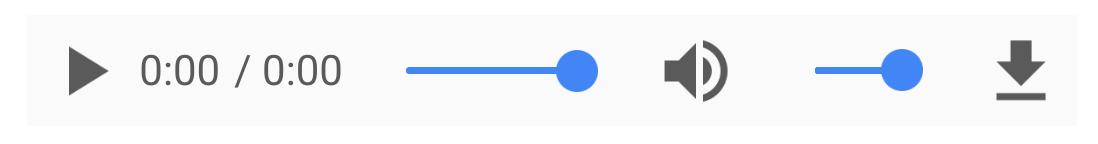 Sound widget